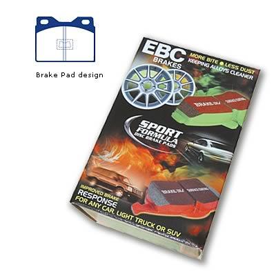 DP3220C EBC Redstuff Brake Pads