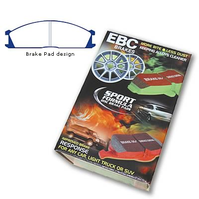 EBC Brakes DP3691C Redstuff Ceramic Low Dust Brake Pad