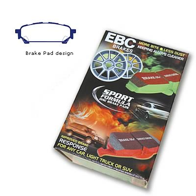 EBC YELLOWSTUFF HIGH FRICTION PERFORMANCE BRAKE PADS STREET TRACK REAR DP41687R