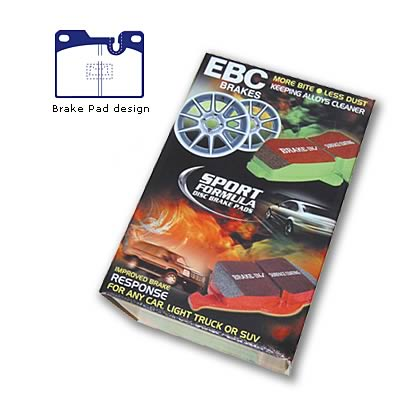 EBC Brakes DP4346R Yellowstuff Street and Track Brake Pad