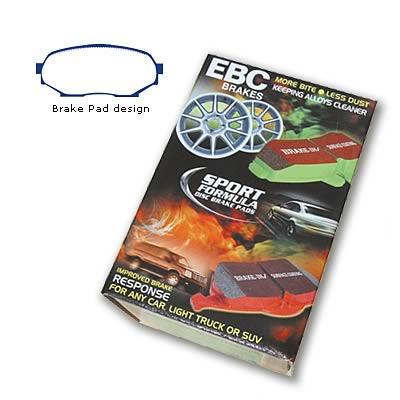 EBC Brakes DP4802R Yellowstuff Street and Track Brake Pad