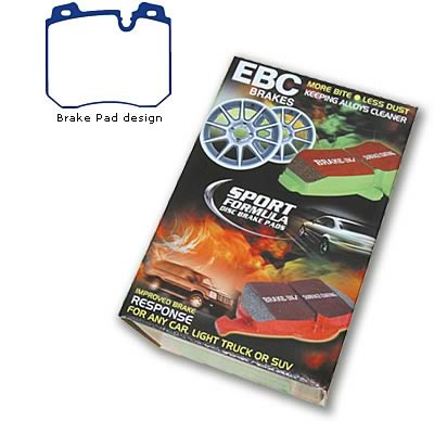 EBC Brakes DP4886R Yellowstuff Street and Track Brake Pad