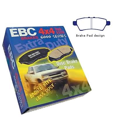 EBC Brakes DP61933 6000 Series Greenstuff Truck and SUV Brake Pad