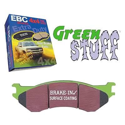 EBC For Chevrolet//GMC EBC SUV//Truck Supreme low dust Pad set DP71742 Front