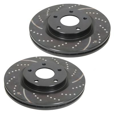 EBC Brakes GD7120 3GD Series Dimpled and Slotted Sport Rotor