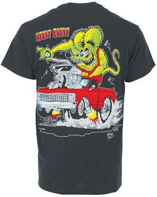 Chevy T Shirts >> Rat Fink Heavy Chevy T Shirt Hclg