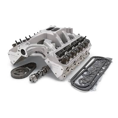 Edelbrock Total Power Package 460 HP Small Block Chevy Top-End Engine Kits  2093