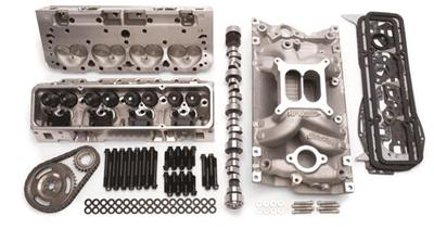 Edelbrock Total Power Package 435 HP Small Block Chevy Top-End Engine Kits  2097