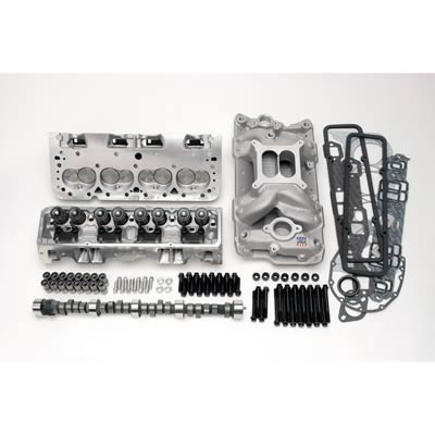 Edelbrock Total Power Package 410 HP Small Block Chevy Top-End Engine Kits  2098