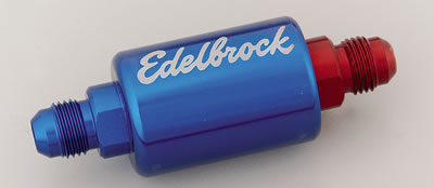 edelbrock inline fuel filters 8130 free shipping on. Black Bedroom Furniture Sets. Home Design Ideas