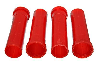 Energy Suspension Torsion Bar Bushing Kit 5.4110R; Red Polyurethane