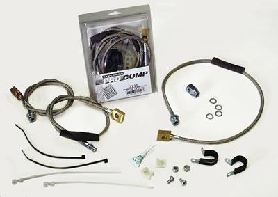 Explorer Pro Comp 7213 Tacoma Brake Hose Kit Pro Comp Suspension