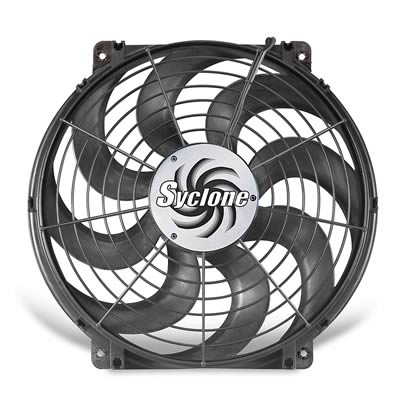 Flex-a-lite 39624 Black 16 24V Reversible Electric Fan