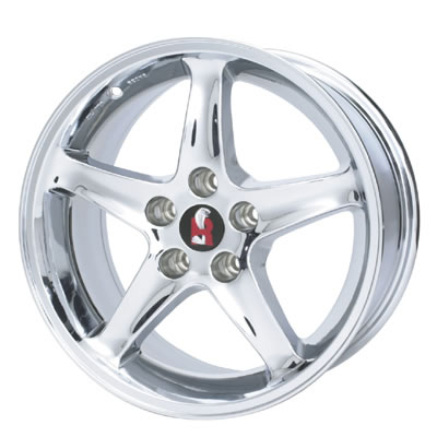 Ford Performance Parts Chrome SVT Mustang Cobra R Wheels M ...