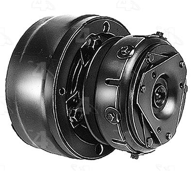 Four Seasons 58231 Heavy Compressor with Clutch