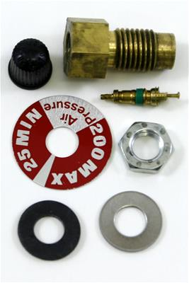 Gabriel Air shock hose kit with the single fill valve option