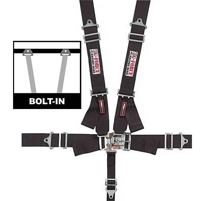 G-FORCE Latch and Link Individual Shoulder Harness Sets 6000BK ...