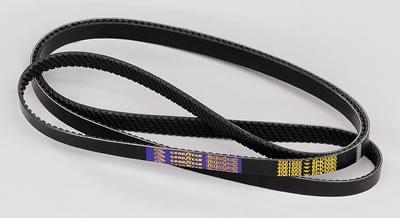Goodyear 4030350 Serpentine Belt Equivalent 350K3 9 Pack 3 Rib Poly-V Belt