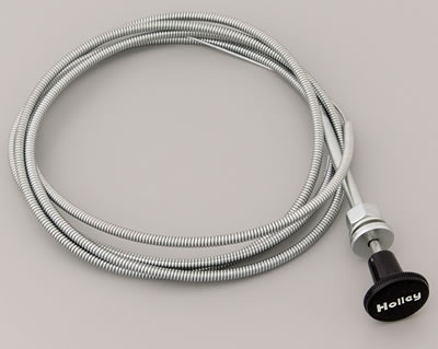 holley manual choke control cables free shipping on orders over rh summitracing com manual choke cables ebay manual choke cable kit