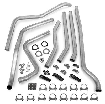 Hooker Headers 16533HKR Dual Competition Header Back Exhaust System Kit