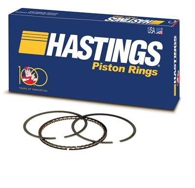 NOS Vintage HASTINGS Piston Rings Filters Casite PATCH Embroidered Sew Iron-On
