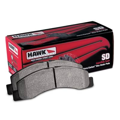Hawk Performance HB302P.700 SuperDuty Brake Pad