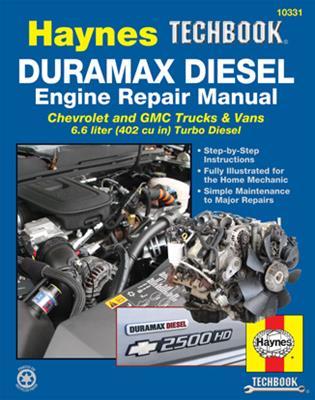 Haynes Automotive 2001-12 Duramax Diesel Engine Repair Manuals 10331