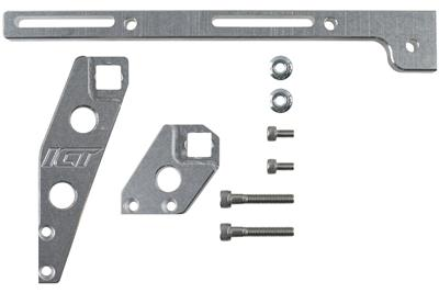 ICT Billet Throttle Cable Brackets 551446