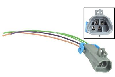 ICT Billet on pigtail harness, pigtail socket, pigtail fuses,