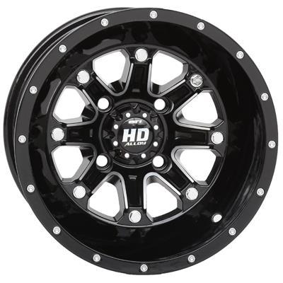 Sti Hd4 Machined Gloss Black Alloy Wheels 12hd403