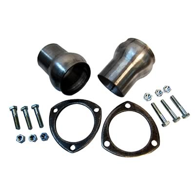 """2.25/"""" Inlet 2.25/"""" Outlet. AHB6-2 Collector//Adapter Kit HEADER BUDDY"""