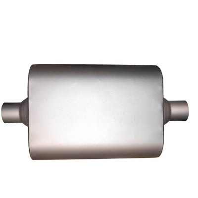"3/"" FB428 Single Chamber Performance Exhaust Race Muffler FULL BOAR C//C"
