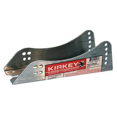 Kirkey Racing Seat Brackets Fixed Mount Lower Natural