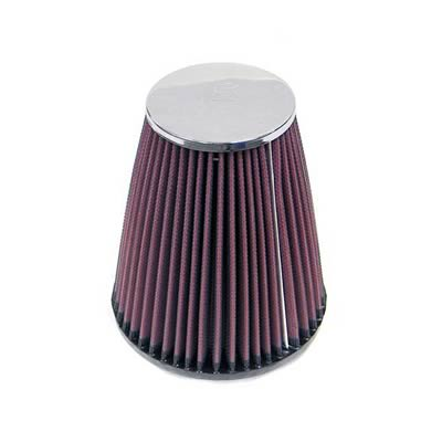 """K/&N Air Filter Element Filtercharger Conical Cotton Gauze Red 3.25/"""" Dia Inlet"""