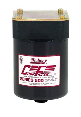 Mallory Comp Filter High Efficiency 500 Series Fuel Filters 29246Summit Racing