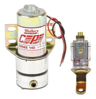 Mallory 29256 High Performance Electric Fuel Pump 7 psi 110 gph Gasoline 3//8 NPT