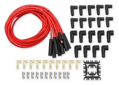 """RED 8.5MM PERFORMANCE IGNITION LEADS HARLEY DAVIDSON LEADS ARE 11/"""" LONG TO ORDER"""