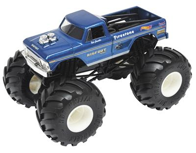 1:24 Scale HOT WHEELS BIGFOOT #1 1974 Ford F-250 Diecast Model GBV32-9993
