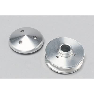 "March Performance 137 Aluminum 1-Groove V-Belt Alternator Pulley 0.668/"" Bore"