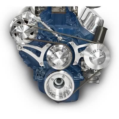Vintage Air 141001-PPA 326-455 Pontiac Compressor Bracket