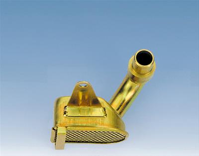 Gold Zinc Plated Street and Strip Oil Pan for Big Block Chevy Milodon 30970 Steel