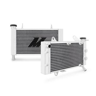 Radiator Crossflow 2-row Aluminum Natural Arctic Cat Kawasaki Fits Suzuki  Each