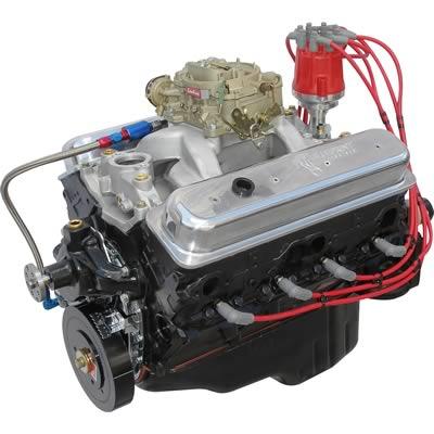 chevy 383 stroker long block engine rebuilt crate engines. Black Bedroom Furniture Sets. Home Design Ideas