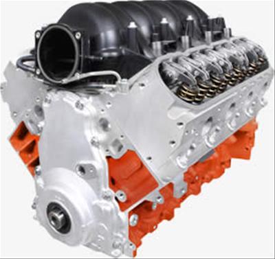 BluePrint Engines Pro Series Chevy LS 427 C I D  625HP EFI Drop-In Base  Long Block Crate Engines PSLS4271CT