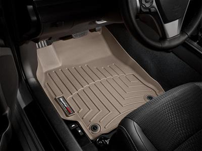WeatherTech Custom Fit Rear FloorLiner for Ford Mustang Black