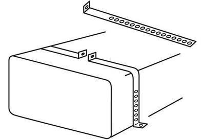 Moeller 035711-10 Topside Fuel Tank Hold Down Kit