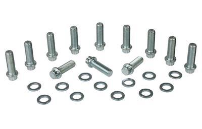 Moroso 38400 Grade-8 12-Point Intake Manifold Bolt Kit Small Block Chevy /& Mopar