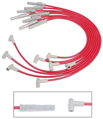 MSD Ignition 31329 Super Conductor Spark Plug Wire Set