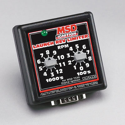 Rotary Dial MSD Launch Controller Manual Each 7751 MSD Power Grid Use