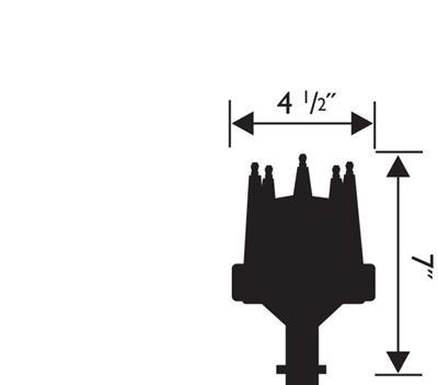 MSD 8366 Pro-Billet EFI Distributor
